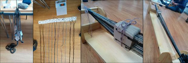 Tablet Weaving Process