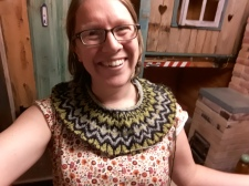 My crazy Air BnB in Haapsalu - you can see my loft bed over my left shoulder.